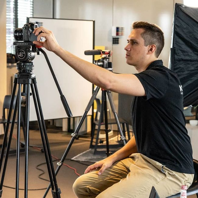 Videograf Niklas Hoffmann