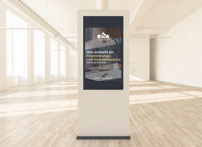 Plakat Werbung